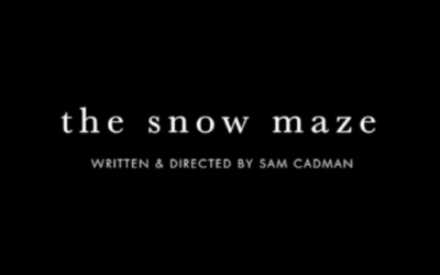 Snow Maze by Sam Cadman